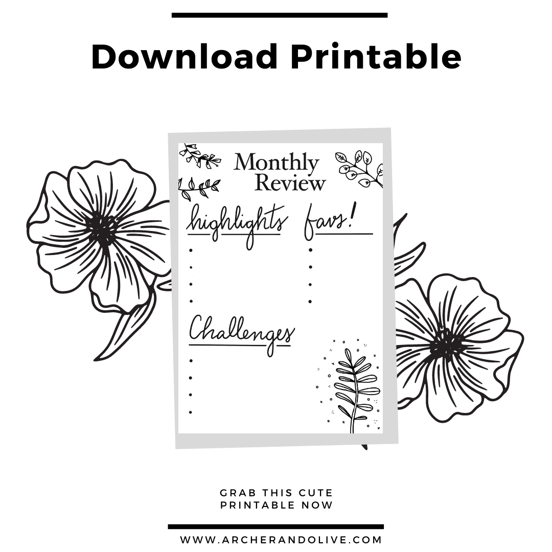 printable review page
