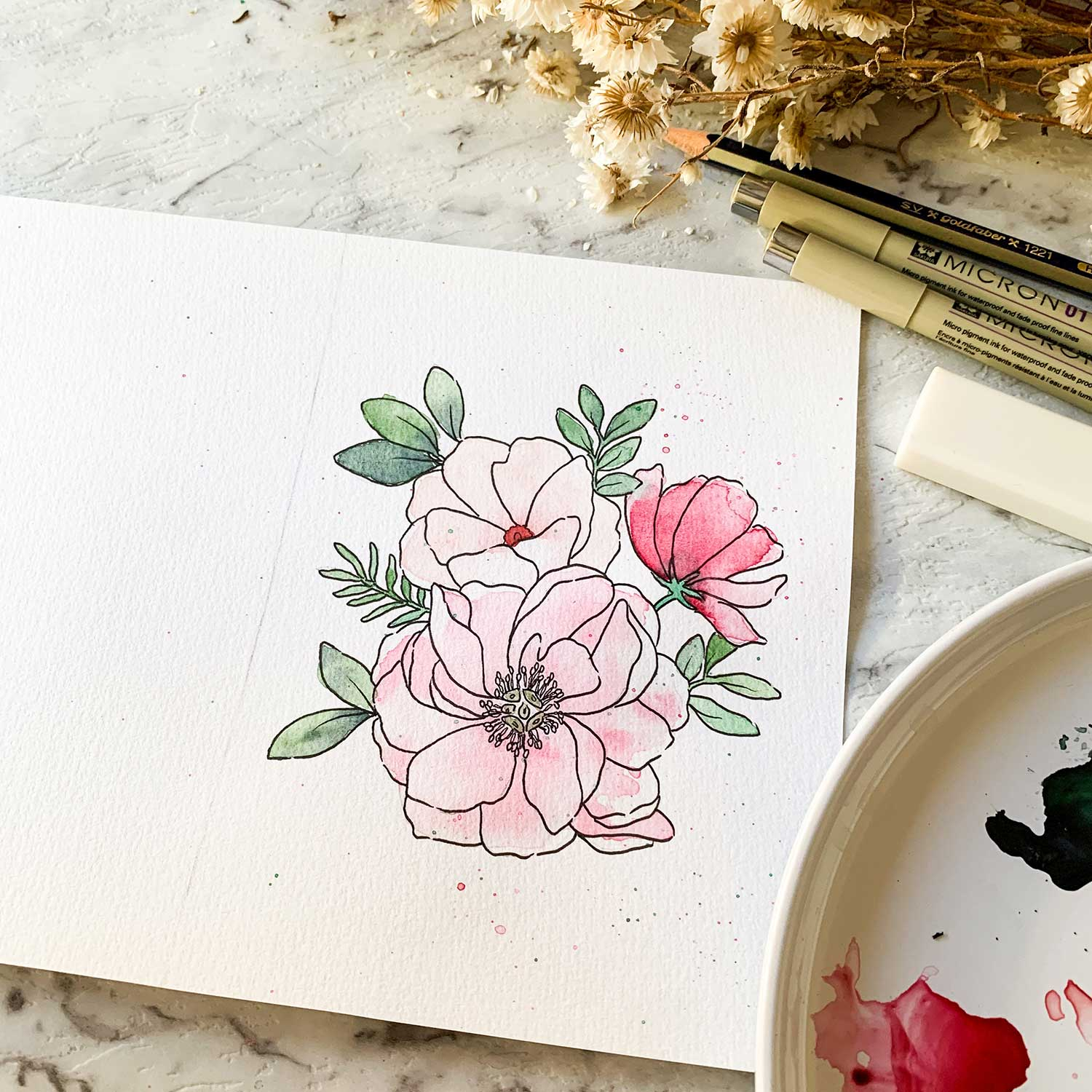 Painting Florals