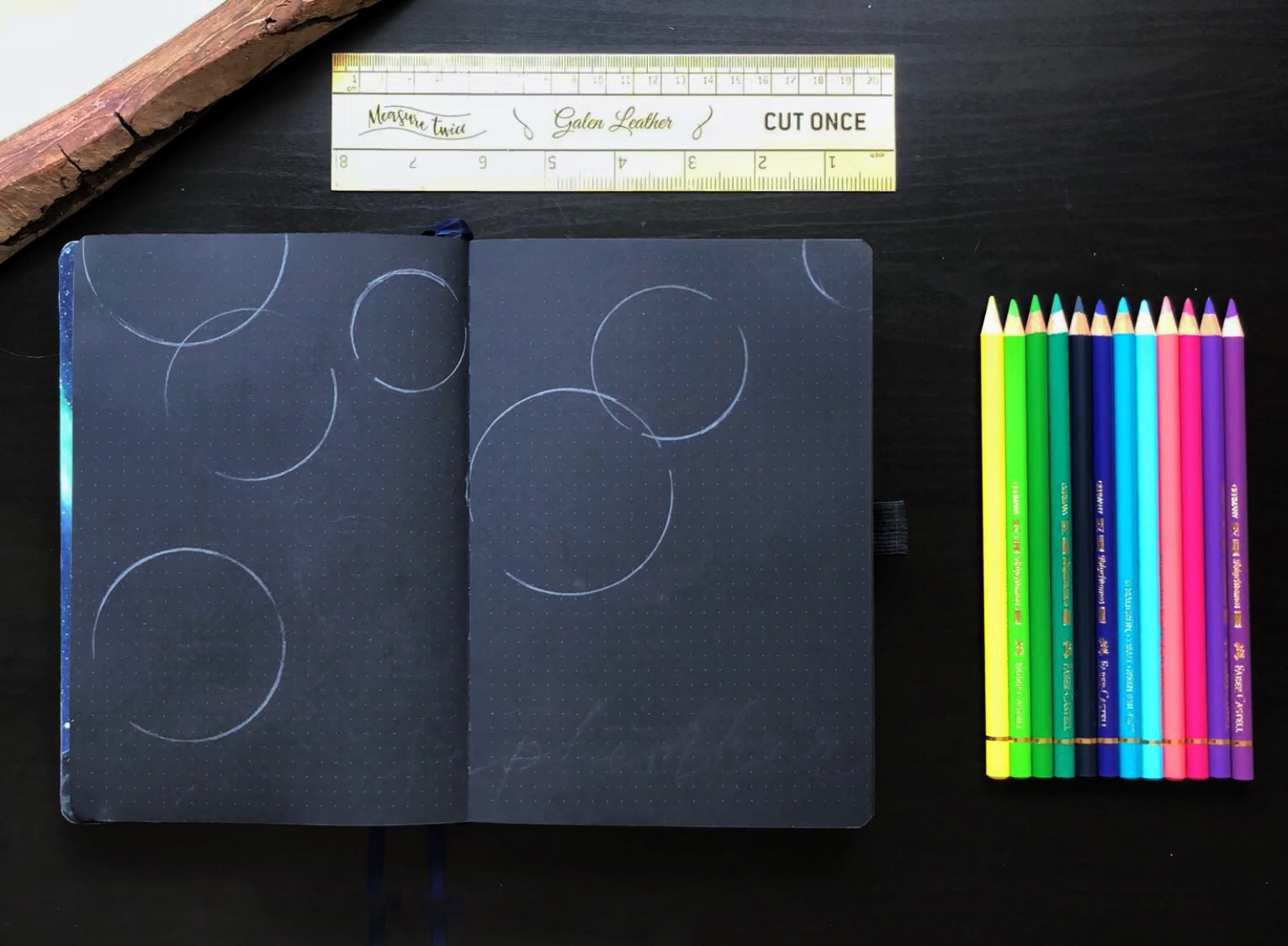Circle outlines