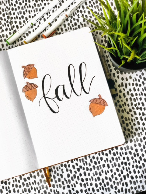 fall example page