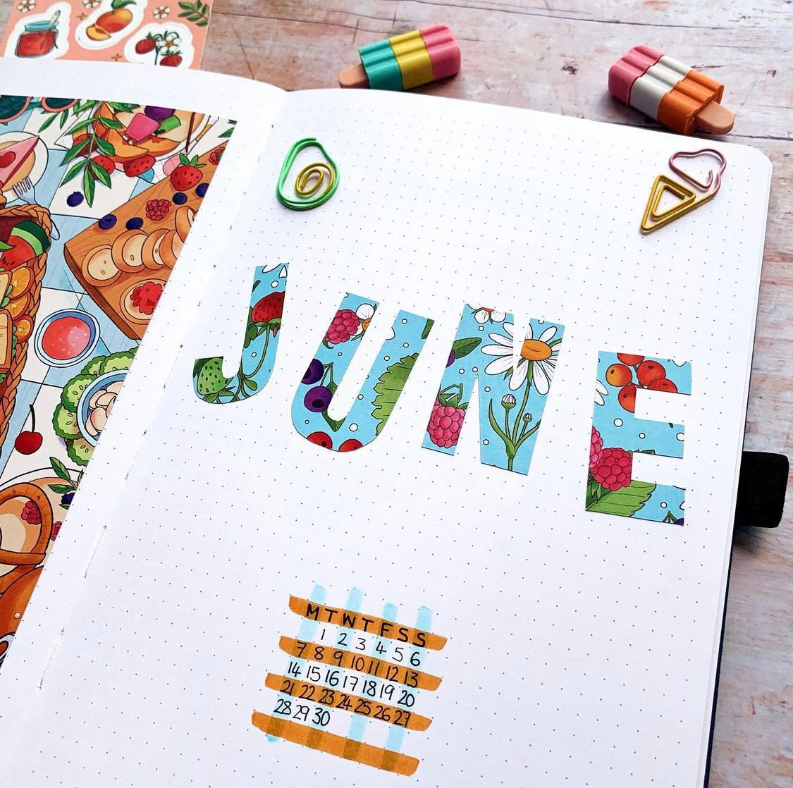 patterned monthly