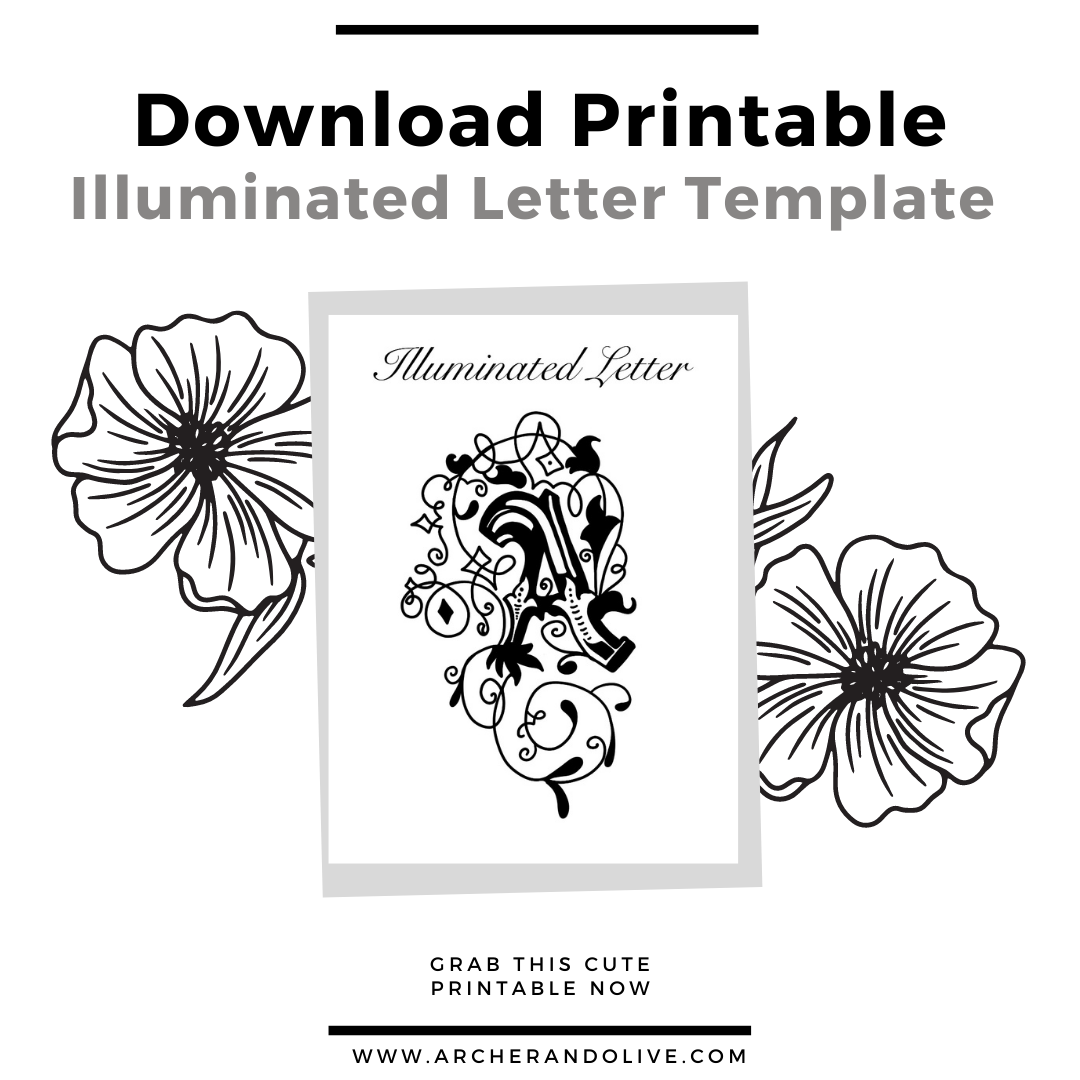 letter template printable