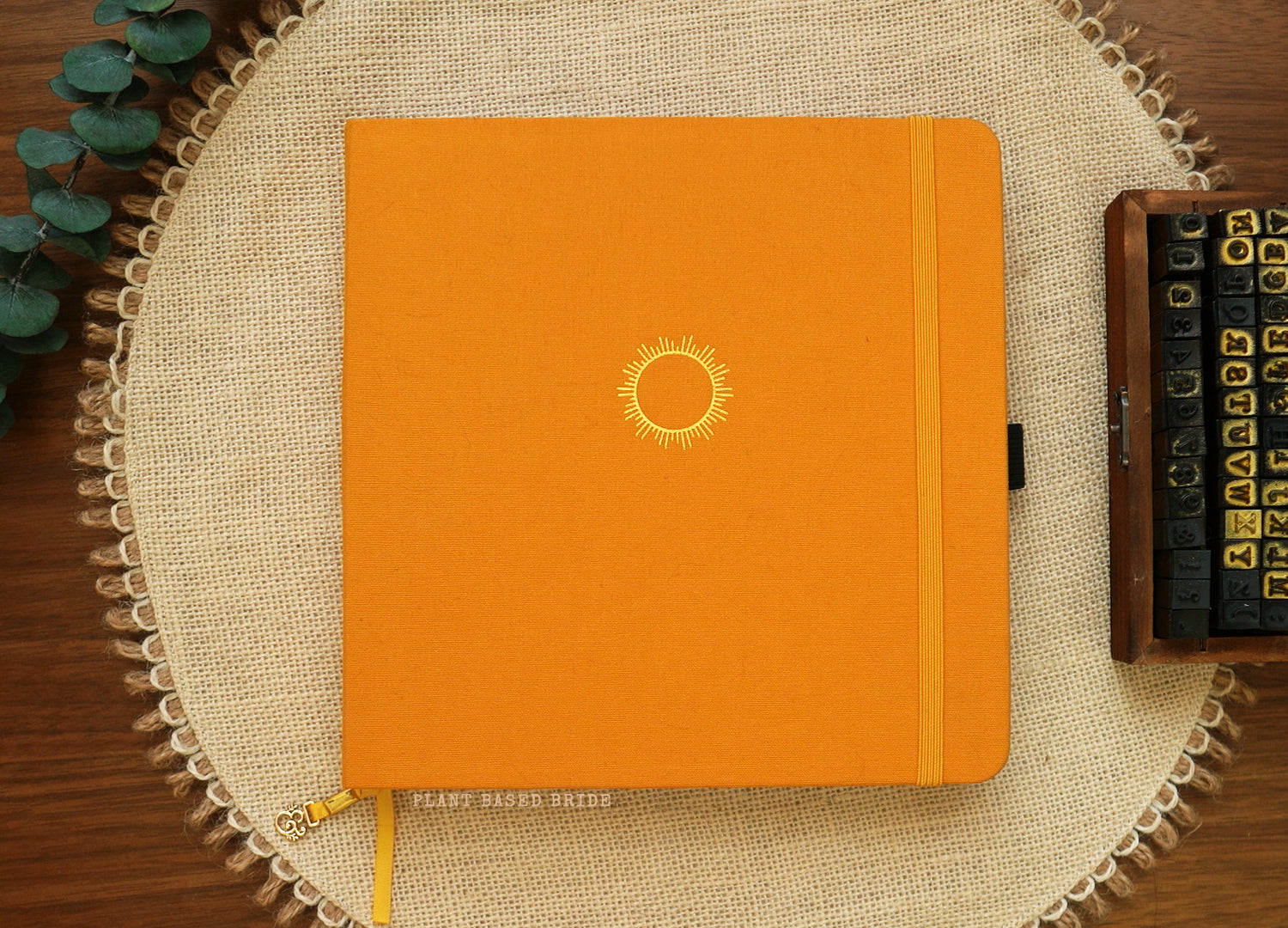 Archer & Olive Morning Sun Square Notebook