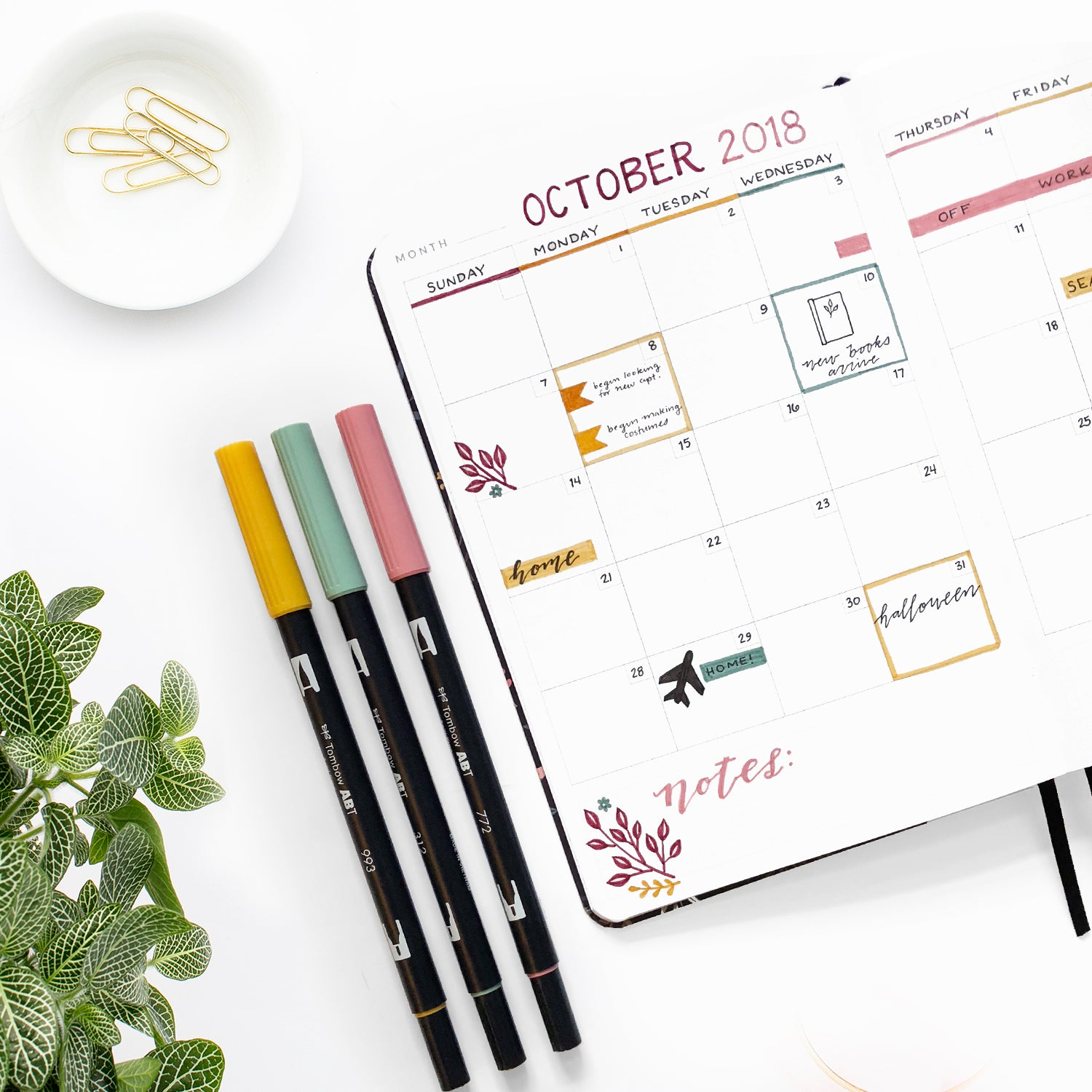 Color Code your planner