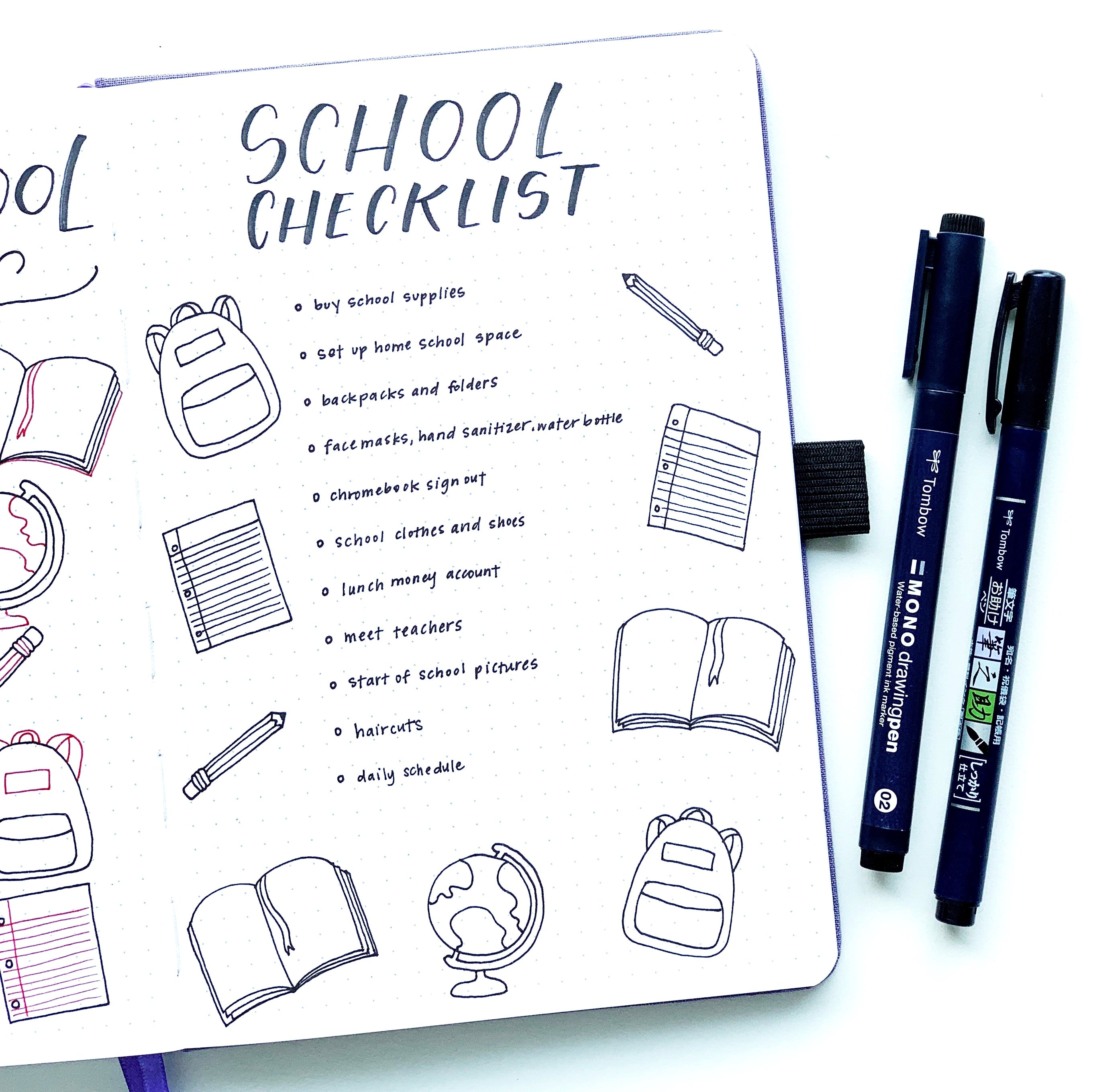Learn how to create back-to-school doodles in your notebook with Adrienne from @studio80design!