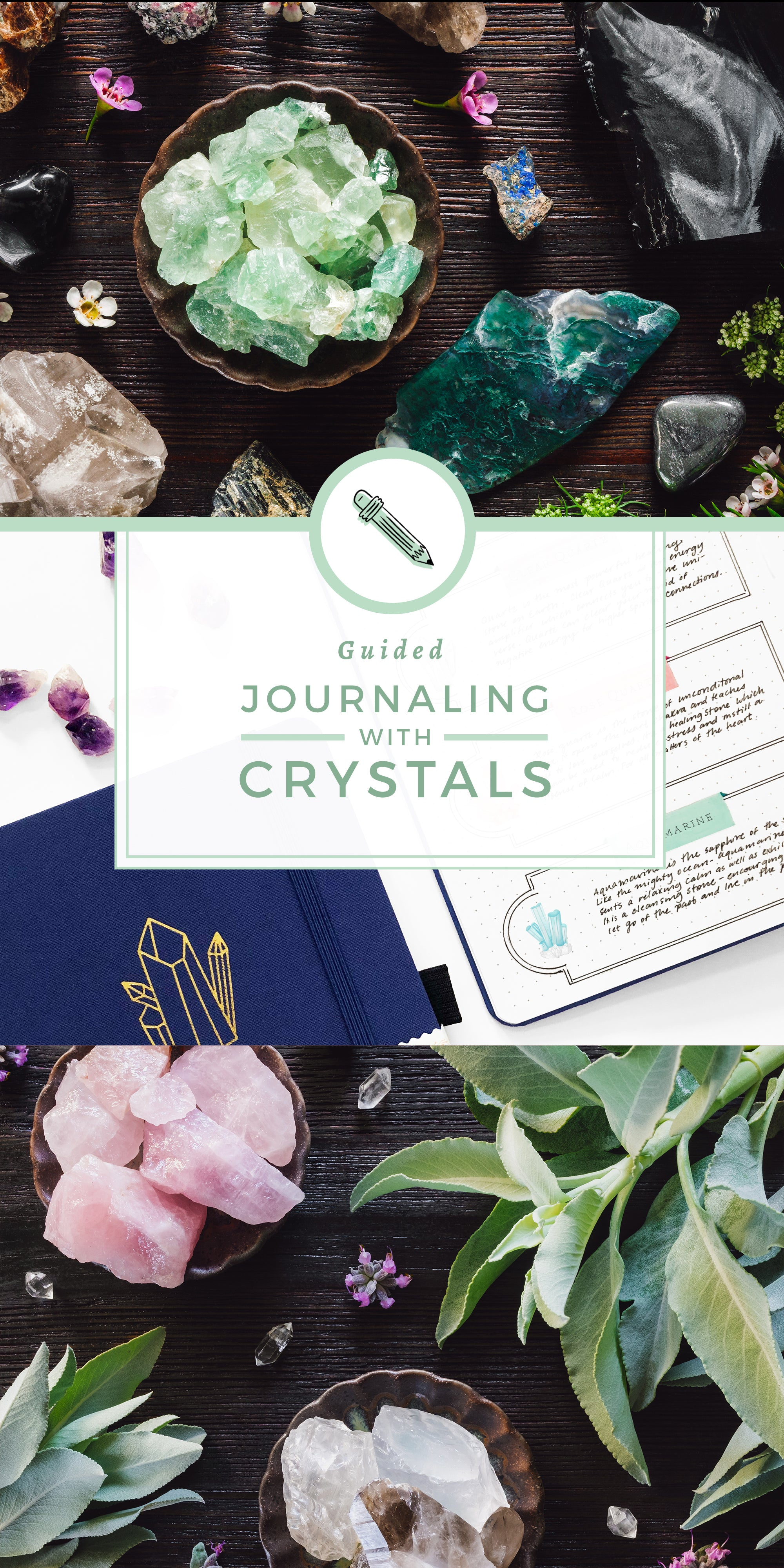 Guided Journaling With Crystals