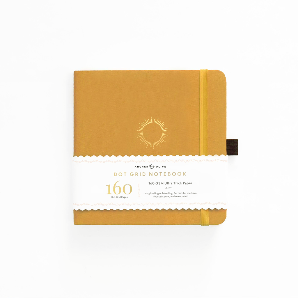 archer and olive square notebook