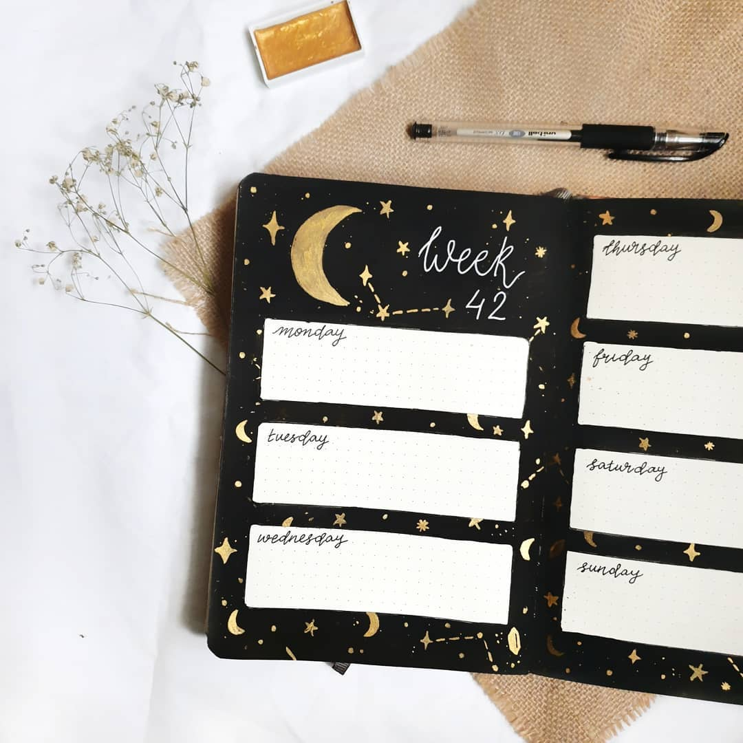 Weekly Bullet Journal Decoration