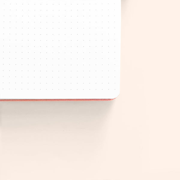 A5 Shooting Star Dot Grid Notebook With Silver Gilded Edges