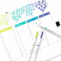 Pre-order - Acrylograph Pens Jewel Selection 0.7mm Tip