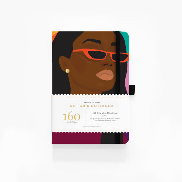 Bee Harris -  Series 1 A5 Dot Grid Notebook
