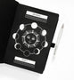 A5 Moon Phases Blackout Dot grid Notebook