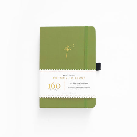 A5 Vintage Bee Lined Notebook