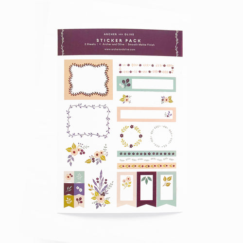 Be Mine | Planner Stickers | Bullet Journal Stickers