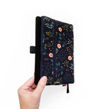 Night Garden  |  Pencil Pouch Attaches to Journal