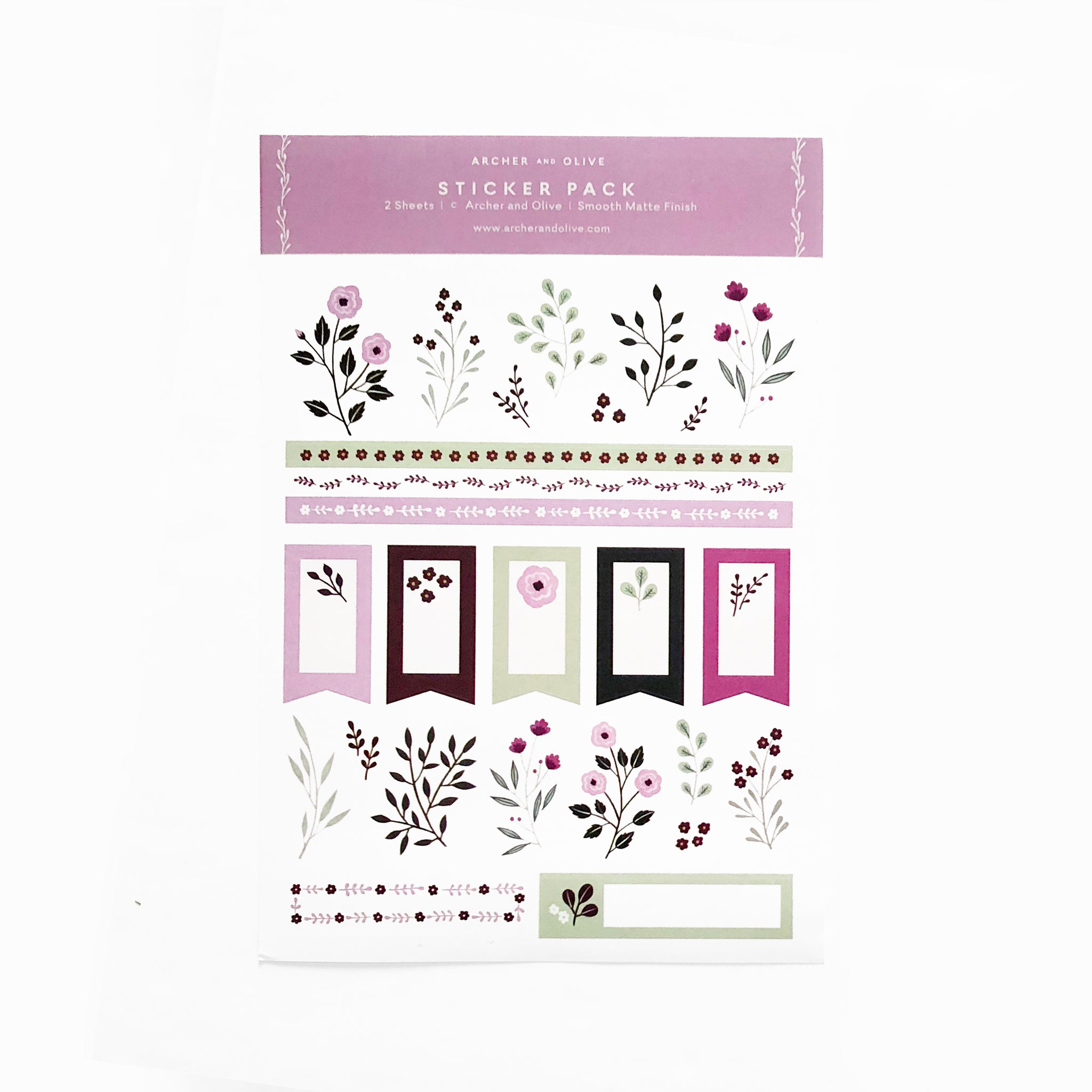 Berries Stickers 2 Sheets