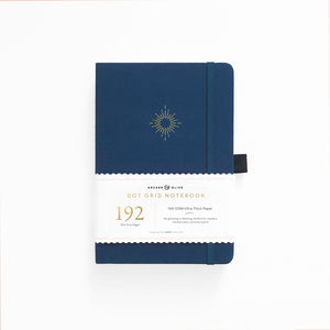 A5 North Star 192 Pages Dot Grid Notebook