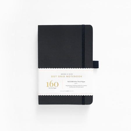 B6 Night Sky Dot Grid Notebook