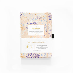 A5 Blush-A-Bye Dot Grid Notebook