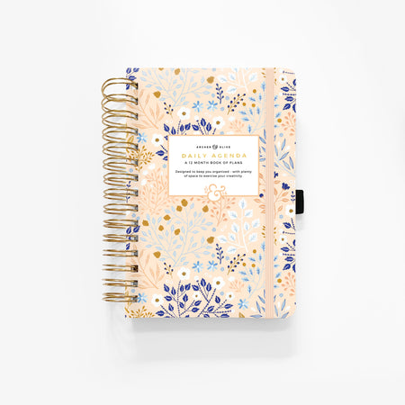 A5 Vintage Bee Dot Grid Notebook