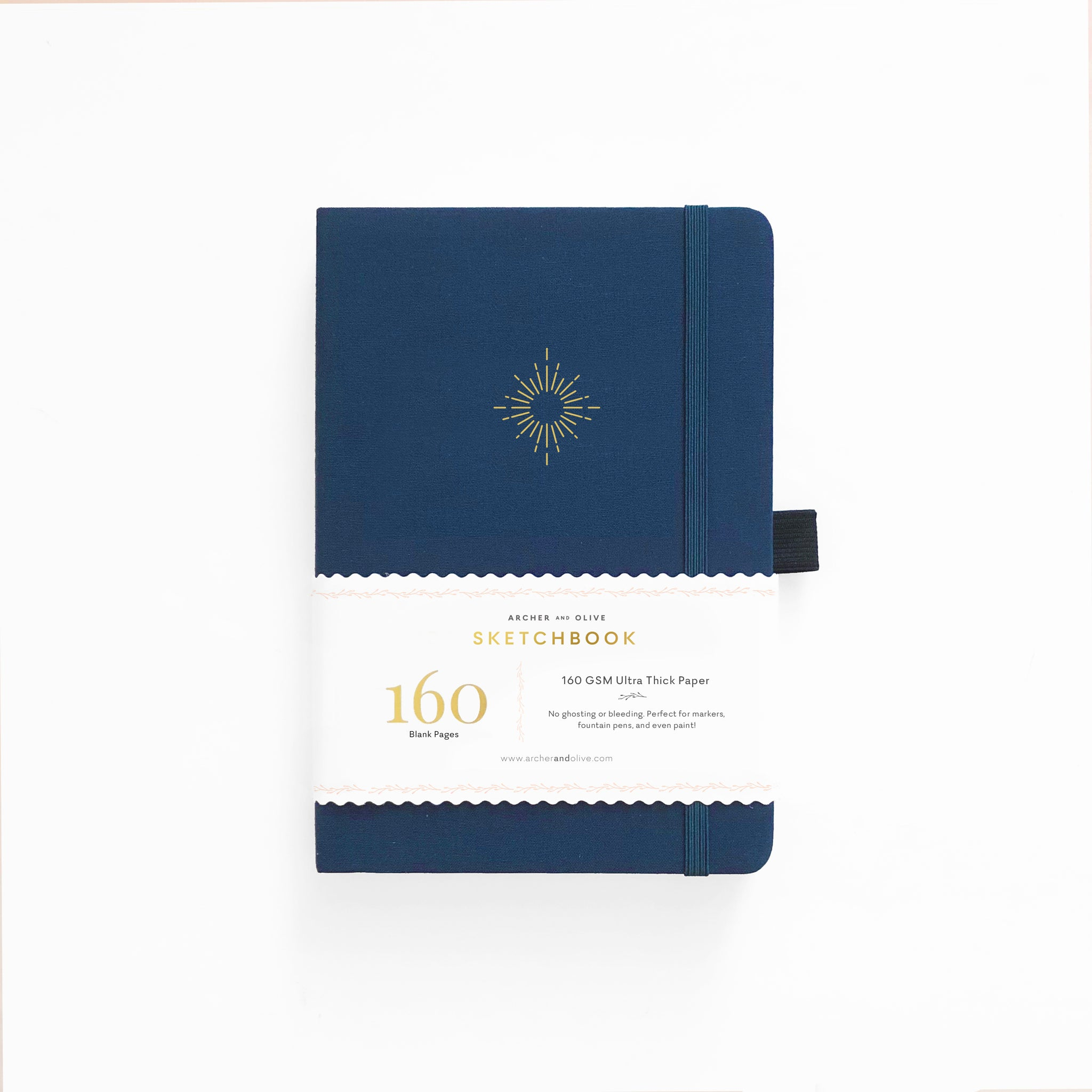 A5 North Star Blank Pages Notebook