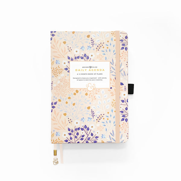 A5 Planner - Blush-A-Bye | Undated 12 Month Personal Planner