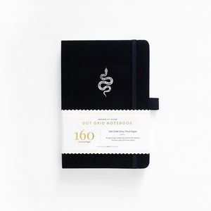 A5 Garden Slither Dot Grid Notebook