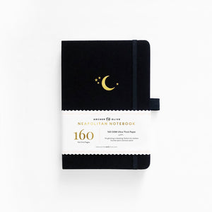 A5 Crescent Moon Neapolitan Dot Grid Notebook