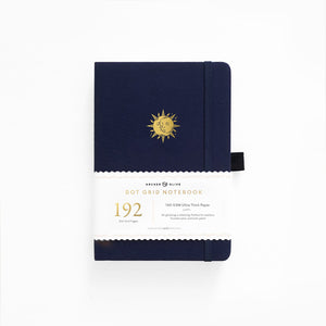 A5 Autumnal Equinox Dot Grid Notebook With 192 Pages