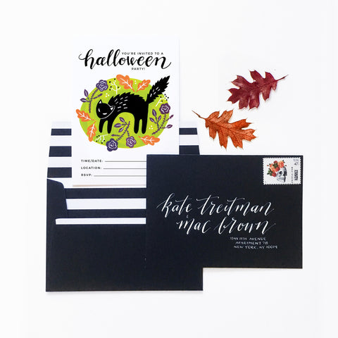 Halloween Party Invitation - Printable Download