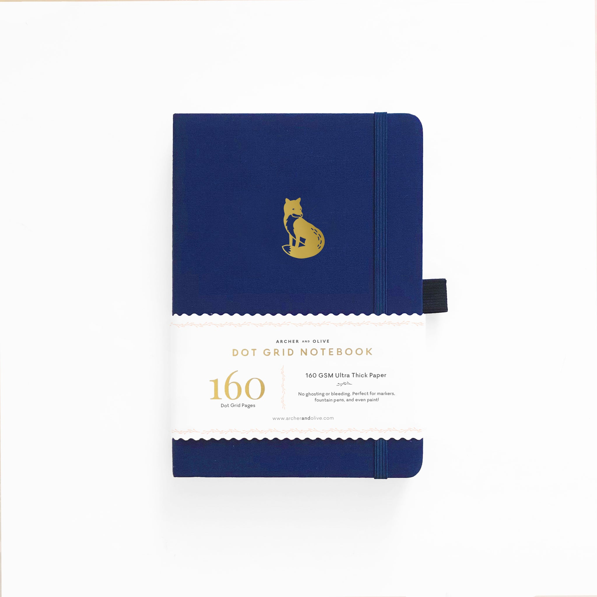 B5 Clever Fox Dot Grid Notebook