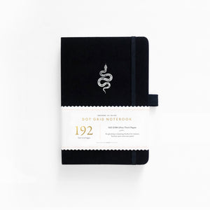 A5 Garden Slither 192 Pages Dot Grid Notebook
