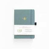 B6 Vintage Bee Dot Grid Notebook