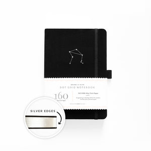 A5 Zodiac - Libra Dot Grid Notebook