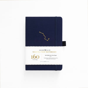 A5 Night Sky Neapolitan Dot Grid Notebook