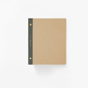 A5 Kraft Dot Grid Notepad