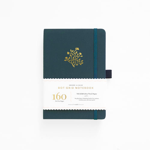 A5 Secret Vine Dot Grid Notebook