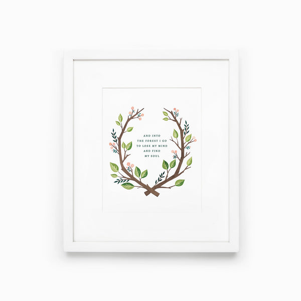 Into the Forest - Printable