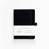 B5 Black Dot Grid Notebook