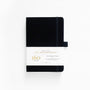 A5 Black Dot Grid Notebook