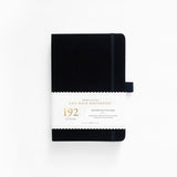 A5 Black Dot Grid Notebook With 192 Pages!