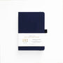 A5 Dark Blue 192 Pages Dot Grid Notebook