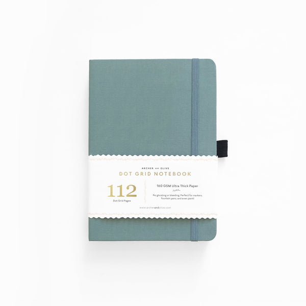 PREORDER - B6 Light Blue Dot Grid Notebook | SHIPS IN APRIL