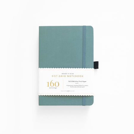 A5 Twin Arrows Dot Grid Notebook
