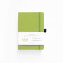 A5 Lime Green Dot Grid Notebook