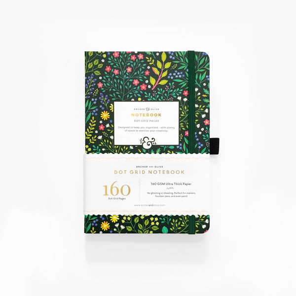 A5 Verdant Ventures Dot Grid Notebook