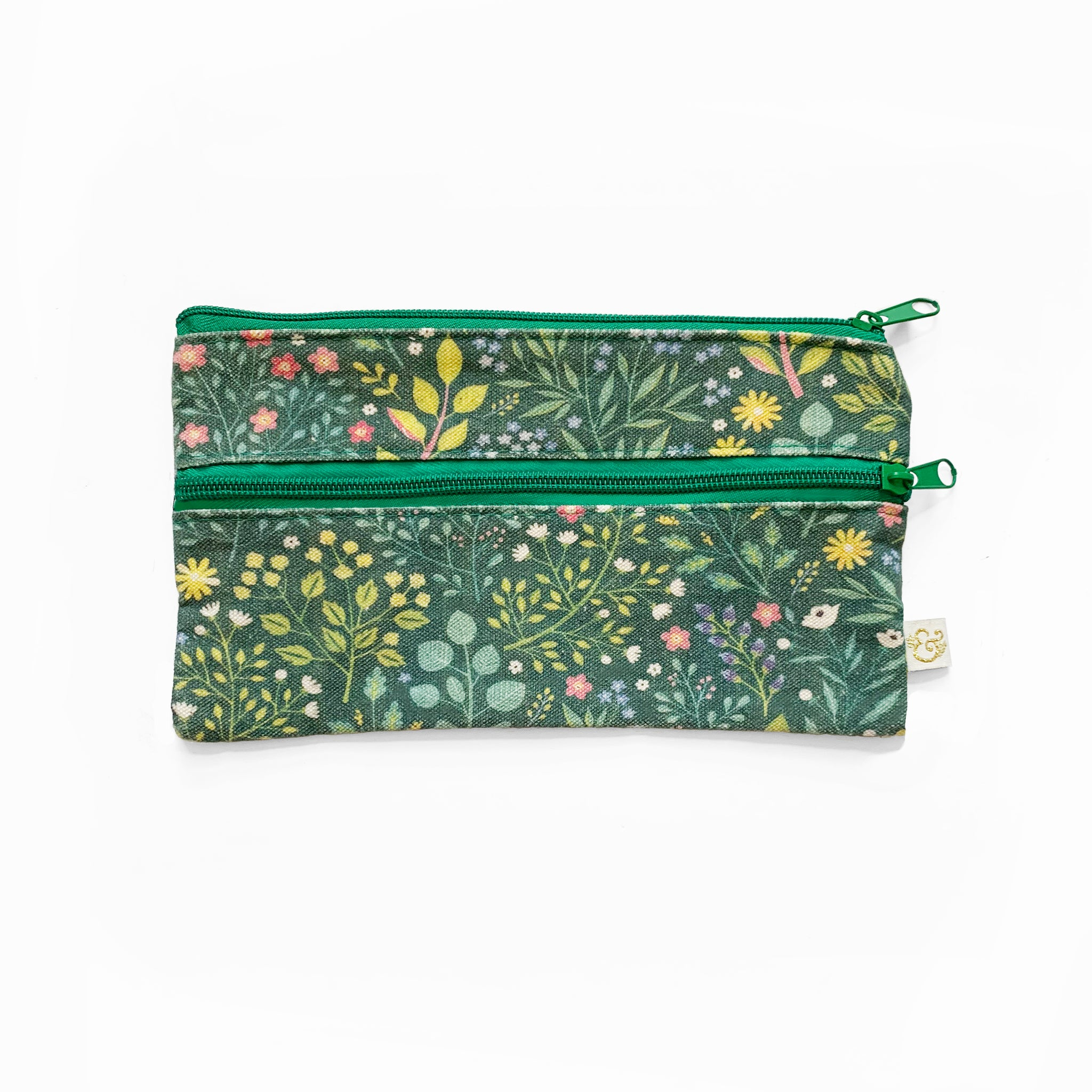 Verdant Ventures Pencil Pouch Attaches to Journal