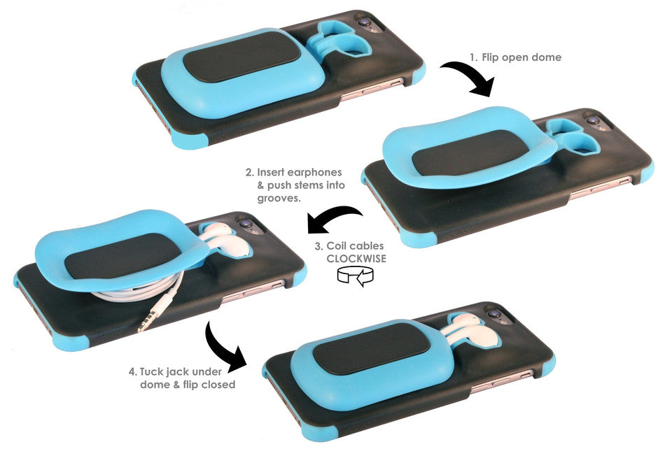 How to use the dome8 phone case... Easy!
