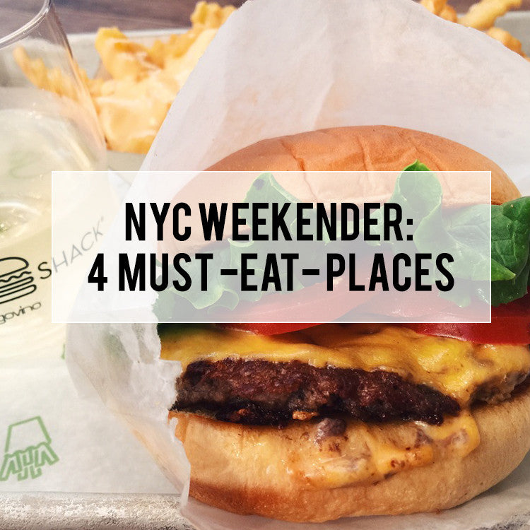 72 Hours in New York: 4 Must-Eat-Places