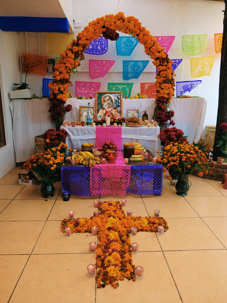 Day of the Dead alter in Oaxaca, Mexico